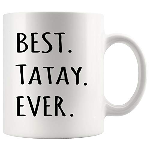 Dad Mug Father Day Cup - Best Tatay Ever tshirt Tagalog Filipino Dad t shirt