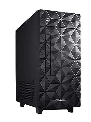 ASUS S340MF Desktop PC, Intel Core i5-9400, 8GB DDR4 RAM, 512GB PCIe SSD, Windows 10 Home, Black - S340MF-DS501