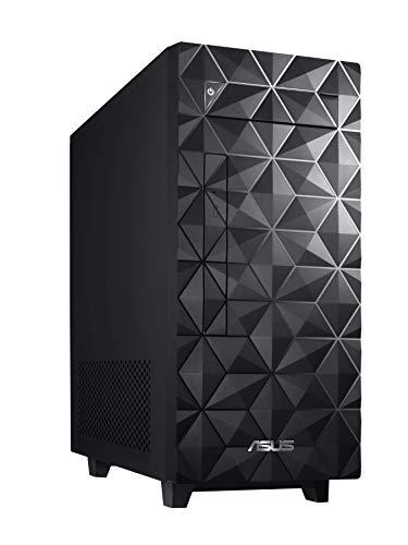 ASUS S340MF Desktop PC, Intel Core i3-9100, 8GB DDR4 RAM, 512GB PCIe SSD, Windows 10 Home, Black - S340MF-DS301