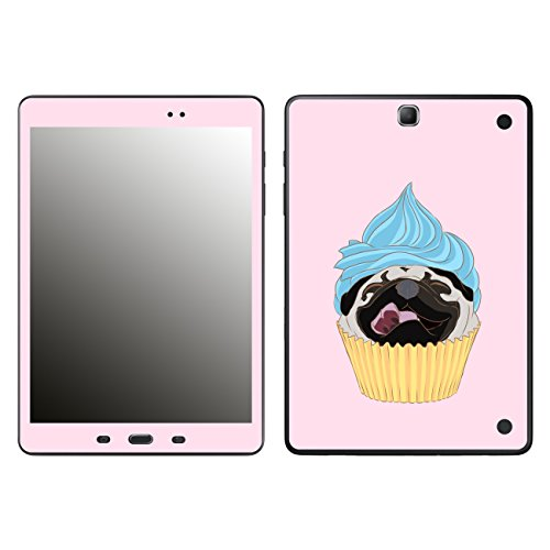 'Disagu SF 106397_ 1170Protective Skins Case Cover For Samsung Galaxy Tab A T550–Pugcake 02Clear