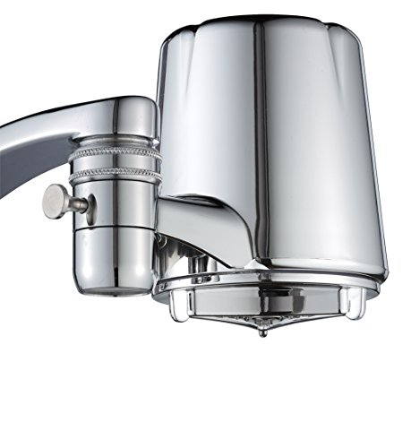 Culligan FM-25 Faucet Mount Filter with Advanced Water Filtration, Chrome Finish 2 FM-25 Faucet Mount Filter with Advanced Water Filtration, Chrome Finish - 2 PACK