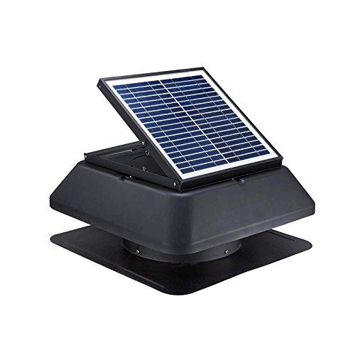20W Solar Loft Ventilateur 1520M³/h...