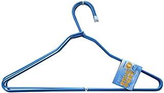 ニシダ 洗濯ハンガー ワイヤーハンガー 4本組 ブルー