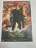 Póster – Percy Jackson y los de los olimpo el mar de los monstruos