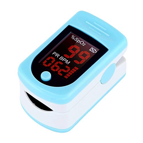 NIU SpO2 Monitor with OLED Screen, Oxygen Saturation Monitor - Fingertip Pulse Oximeter?Monitor Your Heart Rate and O2 Level ?with OLED Screen, Include Lanyard