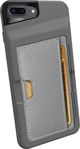 Silk / CM4 Apple iPhone 8 / 7 Plus Wallet Hülle - Q Kreditkartentasche