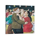 FRFK Fernando Botero The Bilbao Wandkunst-Poster Geschenke,