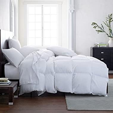 THE ULTIMATE ALL SEASON COMFORTER Hotel Luxury Down Alternative Comforter Duvet Insert with Tabs Washable and Hypoallergenic (California King)