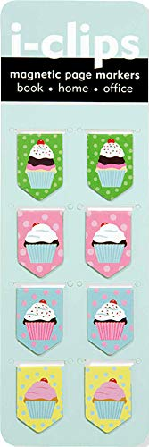 Cupcake i-clips Magnetic Bookmarks