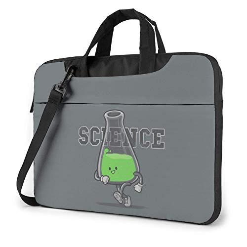 Laptop Shoulder Bag Carrying Laptop Case 14 Inch, Science Anime Computer Sleeve Cover with Handle, Business Briefcase Protective Bag for Ultrabook, MacBook, Asus, Samsung, Sony, Notebook