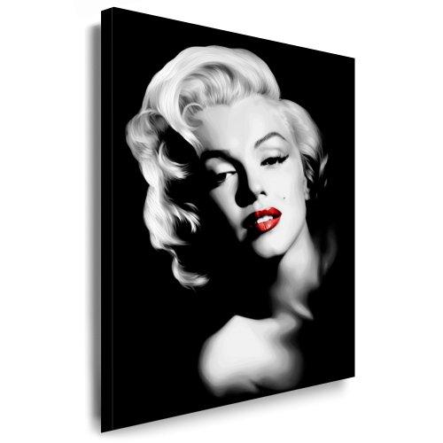 Marilyn Monroe Kunstdruck Deko Bild 100x70cm k. Musik Poster Cd DvD. - Weitere Wandbilder, Pop Art Kunstdrucke, Bilder zu Musik Stars, Bands finden Sie bei Leinwandbilder org - Alle Bilder fertig gerahmt mit Keilrahmen!!