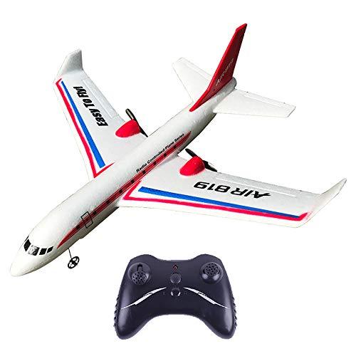 WZRY RC Airplane, Drone Model Toy RC Airplane Toy, con Motores Gemelos Pushback y giroscopio de Seis Ejes, operación más Simple, fácil de Volar, Regalos para el niño Hobby Flying