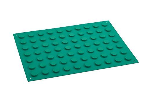 Key Surgical MG-300-400R Magnetic Instrument Mat 11.8' x 15.7' (300mm x 400mm), Green, Reusable. Sold Non-sterile. (Pack of 3)