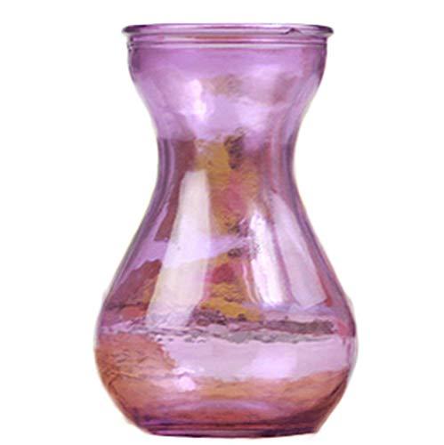 Skyeye 1PCS col Large Vase en Verre Jacinthe d'Vase en Verre hydroponique Vase pour la Maison Décoration de Jardin