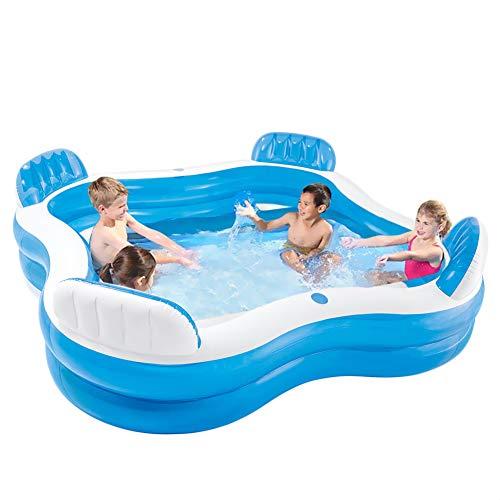 WusaiB 4 posti Centro Nuoto Family Lounge Piscina Famiglia Piscina Gonfiabile Piscina Gonfiabile...