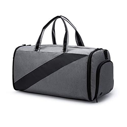 Check Out This YOEDAF Wet and Dry Travel Bag, Waterproof Gym Bag Duffle Bag Travel Overnight Bag Dry Wet Separation Weekender Handbag Sports Fitness Swim Tote Bag for Men Women