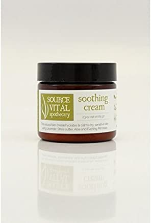 Source Vitál Apothecary Ultra Soothing Facial Cream For Dry and Sensitive Skin by Source Vitál Apothecary (2.3 oz)