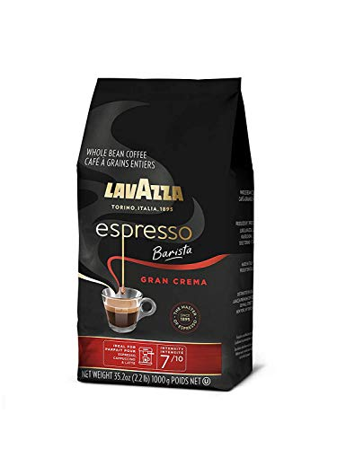 Whole bean coffee blend, 35. 2 oz bag, packaging may vary, medium espresso roast 8 full-bodied dark roast with creamy and full-bodied, with spices notes dark roast blended and roasted in italy