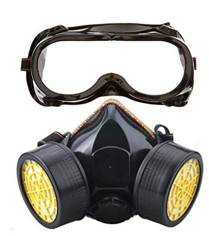 Panniy dust-Proof Paint Double-Barrel Reusable Strong Gas Protective Goggles