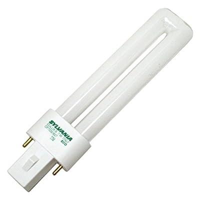 (Case of 50) Sylvania 21277 CF7DS/827/ECO 7-Watt 2700K 2-Pin Single Tube Compact Fluorescent Lamp