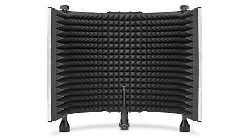Marantz Professional Sound Shield - Escudo de aislamiento de micrófono con filtro anti reflexión fonoabsorbente que reduce el ruido ambiental, para Podcasting, grabación estudio, Twitch y más