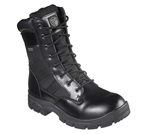 Skechers Men's Wascana-Benen Military and Tactical Boot, Black, 10.5