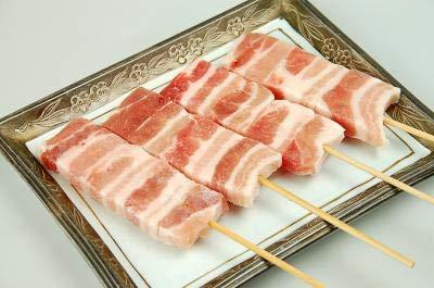 焼き鳥 冷凍 豚バラ 串 360本(本30g) イベント 出店など 業務用 冷凍