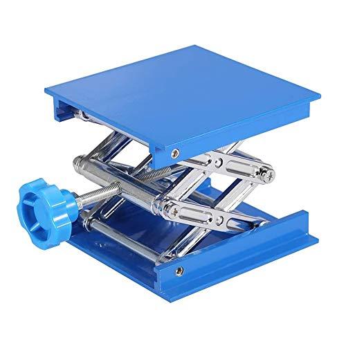 CXD Más Pequeño Y Más Grueso De Alúmina Elevador De Mesa De Elevación para La Plataforma Elevadora Soporte De Laboratorio Laboratorio De Alúmina Soporte Soporte,Azul
