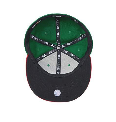 New Era Men 59fifty World Baseball Classic Mexico Hat Cap (7 1/2) Green