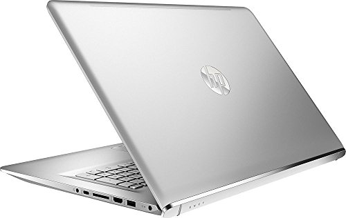 HP Envy 17.3-Inch Full HD IPS Touchscreen Laptop, 7th Intel Core i7-7500U, 16GB DDR4 RAM, 1TB 7200RPM HDD, NVIDIA GeForce 940MX, DVD, HDMI, Bluetooth, Backlit Keyboard, Windows 10-Silver