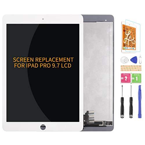Per iPad Pro 9.7 2016 Generazione Schermo Sostituzione A1673 A1674 A1675 Display LCD Touch Digitizer Pannello di Vetro Parti di Riparazione Kit (bianco)