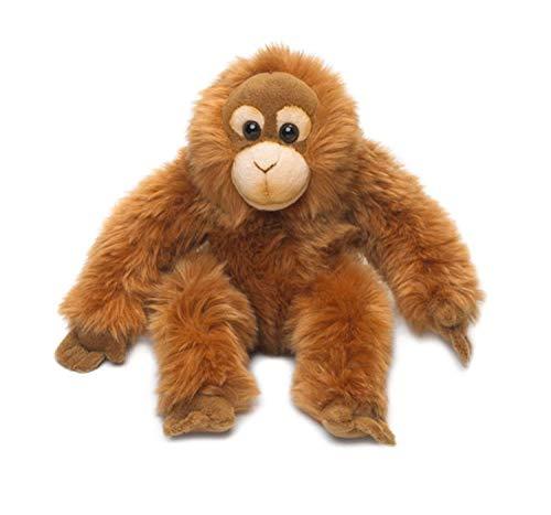 Universal Trends WWF16111 WWF Plüsch Orang-Utan Baby, realistisch gestaltetes Plüschtier, ca. 23 cm groß und wunderbar weich, braun