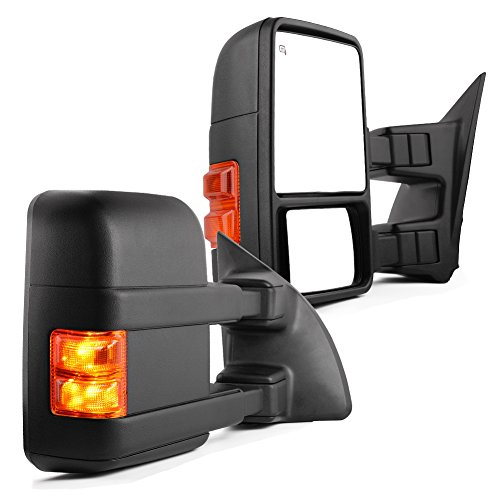 YITAMOTOR Towing Mirrors Compatible for Ford 1999-2007 Ford F250 F350 F450 F550 Super Duty Tow...
