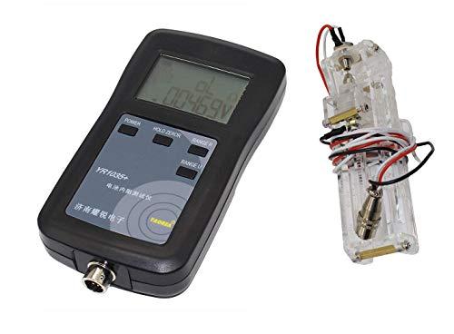 LIPENLI 4 Línea YR1035 Batería Resistencia interna Medidor de prueba: prueba de alta precisión/voltaje de batería/analizador de batería digital (set c)