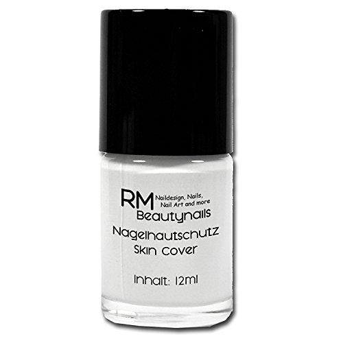 Nagelhautschutz Skin Cover Latex Haut Peel Off 12ml Weiß RM Beautynails