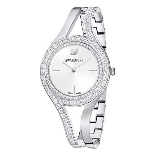 Swarovski Eternal Armbanduhr, Metall, Weiß, Edelstahl