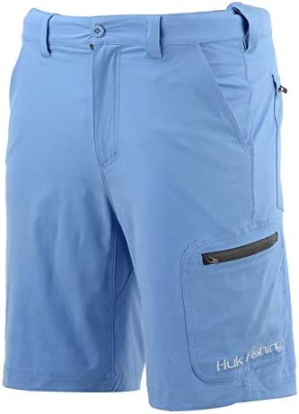 Huk Men s Next Level 10 5 Short Quick Drying Performance Fishing Shorts with UPF 30 Sun Protection product image