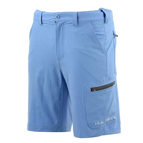 Huk Men's Standard Next Level Quick-Drying Performance Fishing Shorts,...