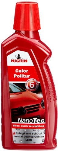 NIGRIN 73871 NanoTec Color-Politur Rot 500ml