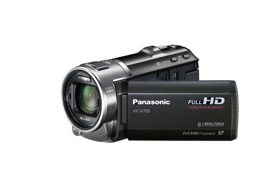 Panasonic PANASONIC HC-V 700 Schwarz