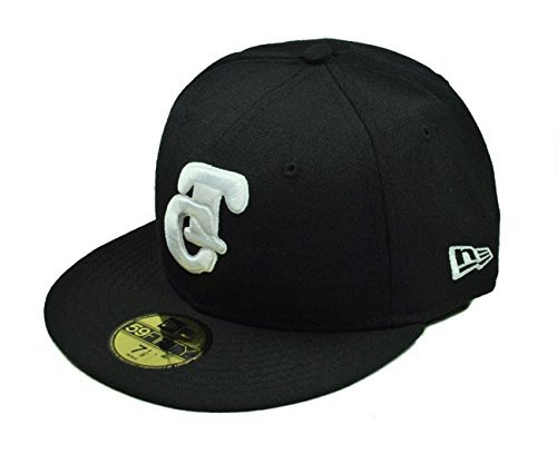 New Era 100% Authentic NWT, 59fifty Fitted Hat Pacific League Tomateros De Culiacan Men's Cap Black/White (6 7/8) - 6 7/8