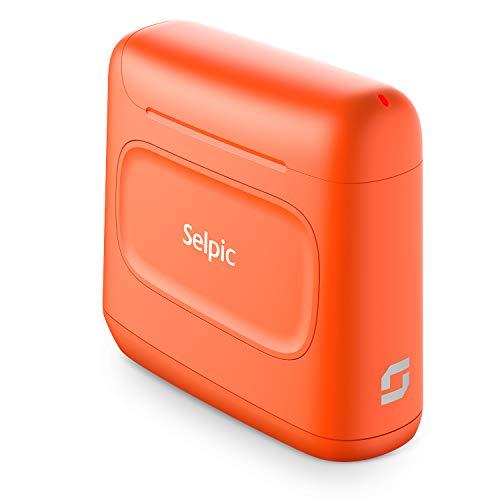 2020 Selpic S1 + 600DPI Stampante a Getto d'inchiostro Portatile Wireless con Inchiostro Impermeabile ad...