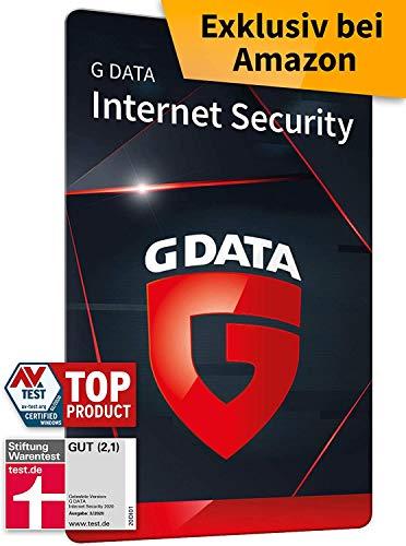 G DATA Internet Security 2021, 5 Geräte - 1 Jahr, Aktivierungskarte, Virenscanner Windows, Mac, Android, iOS, Made in Germany - zukünftige Updates inklusive
