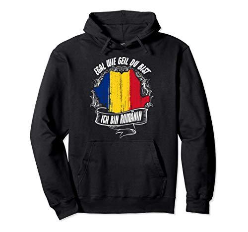 Rumäninnen sind cooler - Lustiges Rumänien Romania Pullover Hoodie
