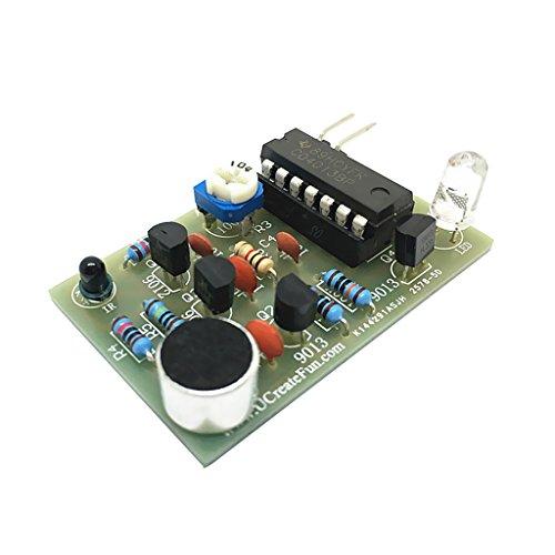 Shiwaki LED Blinkmodul Elektronisches DIY Kit LED Blitzlicht LED Licht DC 5V Multi