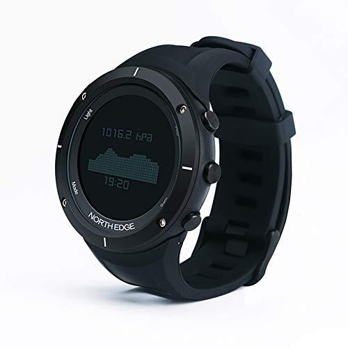 OOLIFENG Reloj Deportivo para Hombre HR, Relojes GPS para Correr con Altímetro/Barómetro/Brújula/Termómetro/Podómetro