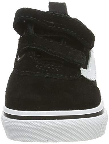 Vans Ward V-Velcro, Scarpe da Ginnastica, Nero ((Suede/Canvas) Black/White Iju), 34.5 EU
