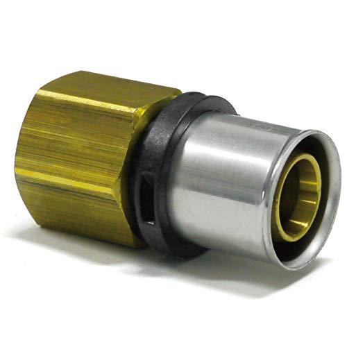 Pipetec - Pieza unión presión rosca interior