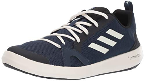 adidas Outdoor Men's Terrex Summer.RDY Boat Water Shoe, col Navy/Chalk White/Black, 11 M US
