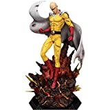 RAXST One Punch Man GK Saitama Figure 15.7' Anime Modell Action Figur Giocattoli da Collezione per Fotografia, Hobby E Collezione